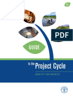 FAO - Guideline to Project Cycle