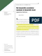Desarrollo Económico Local - CEPAL