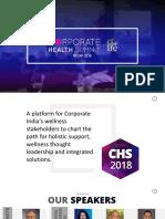 Corporate Health Summit RECAP2018