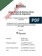 Ampliacion de la capacidad de produccion de la linea de tratamiento superficial en la planta de trefila.pdf