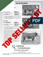 Genoa Livestock Western Nugget Sale Catalog 2010