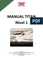 Avolites Titan 1 Guia