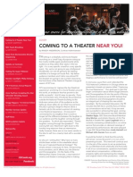 Stage Directors and Choreographers Society Newsletter Volume 56 July/August 2010