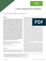 The extracellular matrix modulates the hallmarks of cancer.pdf