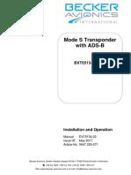 BXT6513_I&O_issue05BECKER TRANSPONDER ADS B.pdf