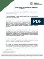 28-02-2019 Aperturan Los Dos Sentidos Del Distribuidor Vial Diamante de Acapulco
