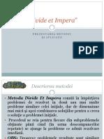 Metoda Divide et Impera.ppt