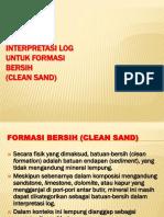 Clean Sand Interpretation