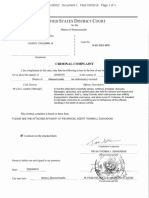 Louis Coleman III Federal Criminal Complaint Massachusetts
