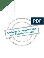 Cartilha Cartorio de Registro Civil Das Pessoas Naturais