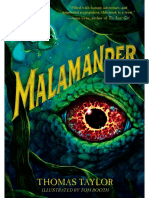 Malamander by Thomas Taylor Author's Note