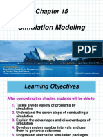 Chapter 16 Simulation Modeling