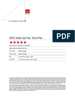 ValueResearchFundcard HDFCSmallCapFund DirectPlan 2019Mar04