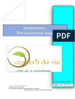 Senescence, The Existential Stage