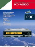 IC A200 Brochure