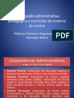 Organização Administrativa Educação Brasileira