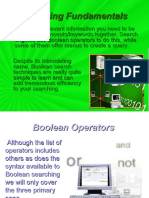 2.1 Boolean Operators
