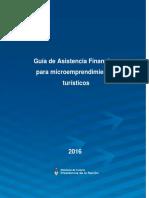 Guia de Asistencia Financiera Para Micro Emprendimientos Turisticos