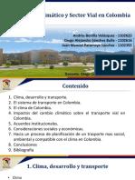 C8. Cambio Climatico y Sector Vial en Colombia -- C8. BONILLA-SANCHEZ-PATARROYO