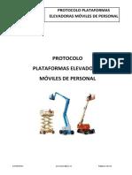 Protocol Plataformes Sp