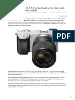 Infofotografi.com-Sony 18-135mm f35-56 Lensa Travel Serba Bisa Untuk Sony A6000 A6300 A6500