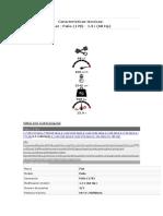 Características Técnicas Palio 1.3 98