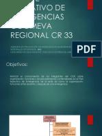 Comité Operativo de Emergencias Coomeva Regional Cr 33