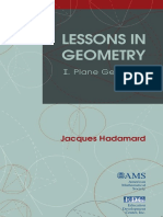 [Monograph Book] Jacques Hadamard - Lessons in Geometry, Vol. 1_ Plane Geometry (2008, American Mathematical Society).pdf