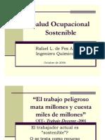 La Salud Ocupacional y Desarrollo Sostenible