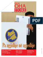 Koha Ditore front page - January 10, 2016