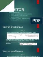 Presentasi Vektor