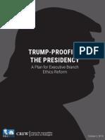 TRUMP-PROOFING THE PRESIDENCY