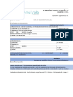 Formulário (IT02-M-00 - Solicitação de Análise Higiene Ocupacional Eletrônico)