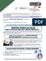 Carta de Pte Insermind s.a.c. de Outsourcing de Ventas Directas b2b