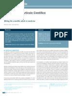 Redacción Del Artículo Científico en Medicina