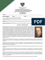 Actividad Bloque II Gregorio Mendel Biologia II