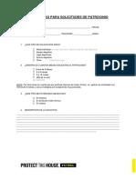 Sponsorship Request Form
