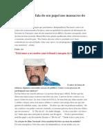 Rui Monteiro Fala Do Seu Papel Nos Massacres Do 27 de Maio de 1977