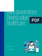 Data Governance Driving Value in Health