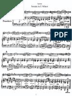 tartini violin sonata in e minor