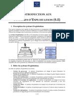 Chapitre 1 - Introduction Aux Systèmes d'Exploitation
