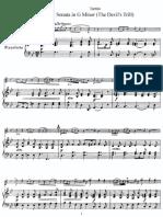 tartini violin sonata g minor