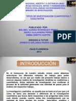 Tipos de Investigacion Cuantitativa-cualitativa