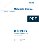 MC Manual Installation WebServer MCweb
