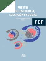 Puentes entre Psicología, Educación y Cultura