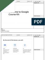 Storyboard - Google Course Kit RLO