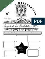 Cuaderno de Las Fianlidades y Los Proyectos