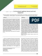 Procesos cognitivos de regulación emocional, burnout y engagement en el trabajo.