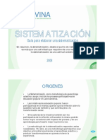 sistemetización