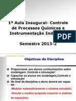AULA 1-InAUGURAL_Controle e Instrumentacao de Processos Quimicos-2013!2!20130823122541